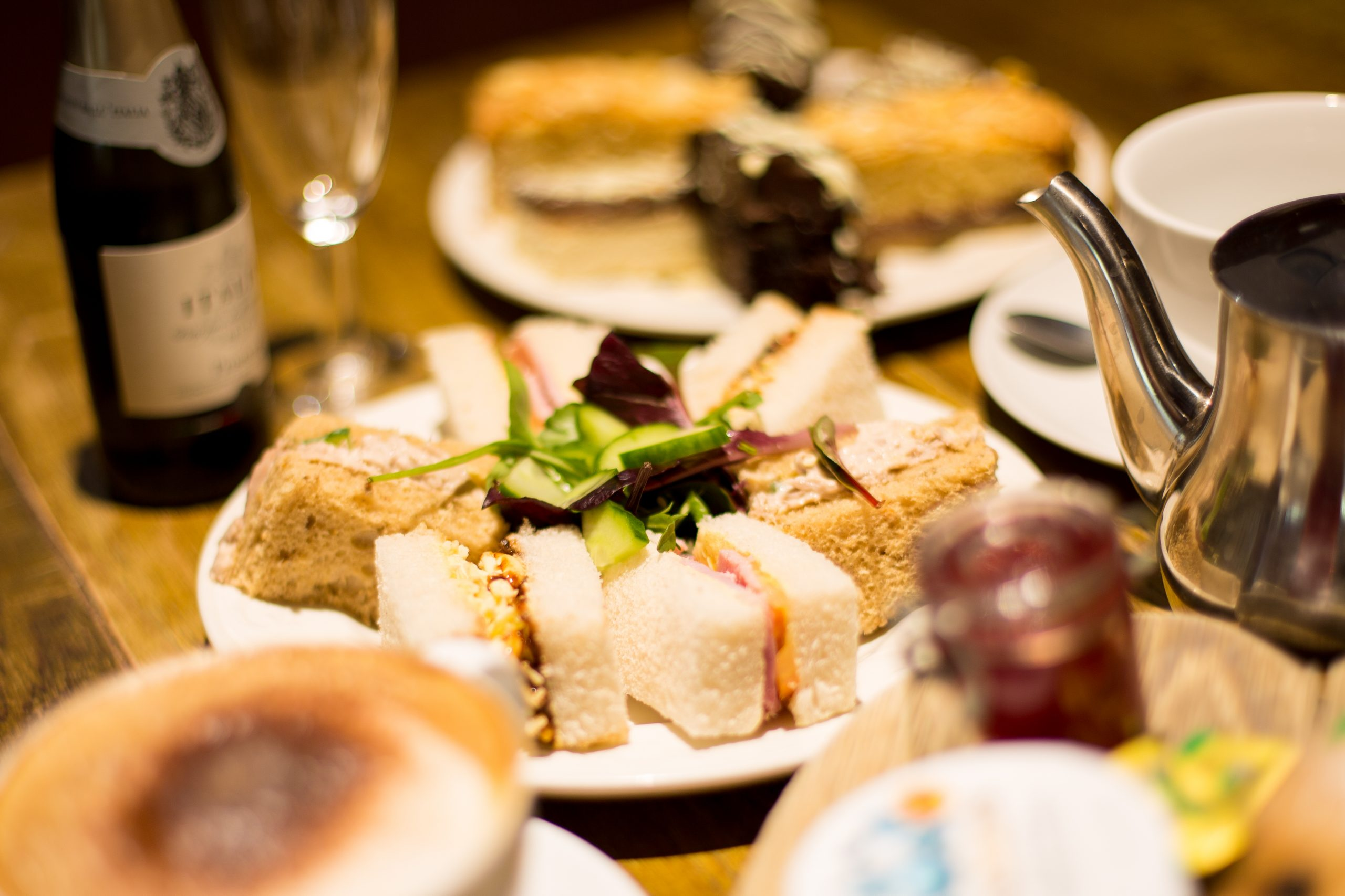 Afternoon Tea at the Mountain Restaurant