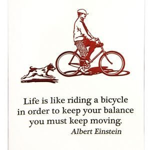 Card - Bicycle Quote